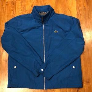 ⭐️Men's Lacoste Jacket Lightweight Hidden Hood XL
